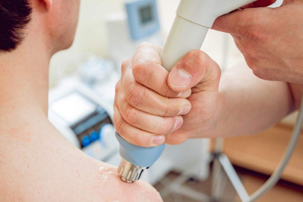 Stoßwellentherapie radial